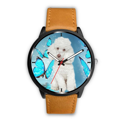 Lovely Poodle Dog Print Wrist Watch- Free Shipping