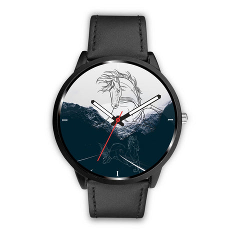 Dutch Warmblood horse Print Wrist Watch-Free Shipping