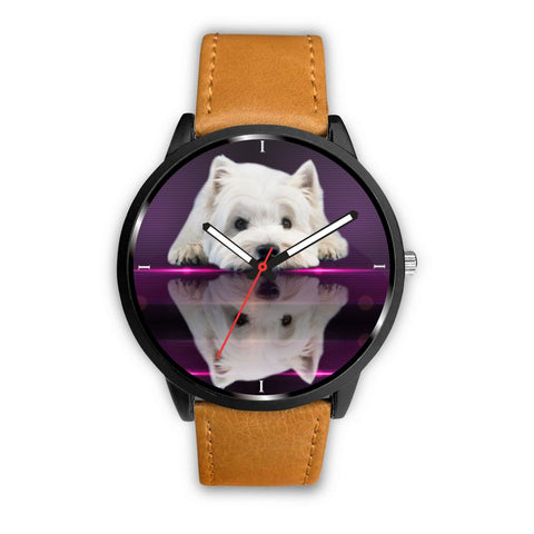 West Highland White Terrier (Westie) Dog Print Wrist Watch-Free Shipping
