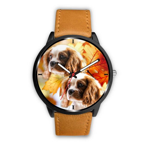 Cute Cavalier King Charles Spaniel Print Wrist Watch - Free Shipping