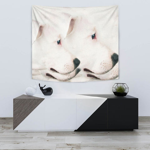 Dogo Argentino Dog Print Tapestry-Free Shipping