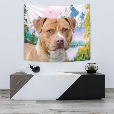 American Staffordshire Terrier Print Tapestry-Free Shipping
