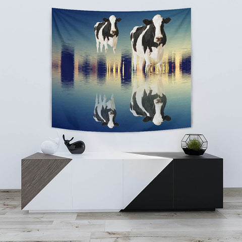 Girolando cattle (Cow) Print Tapestry-Free Shipping