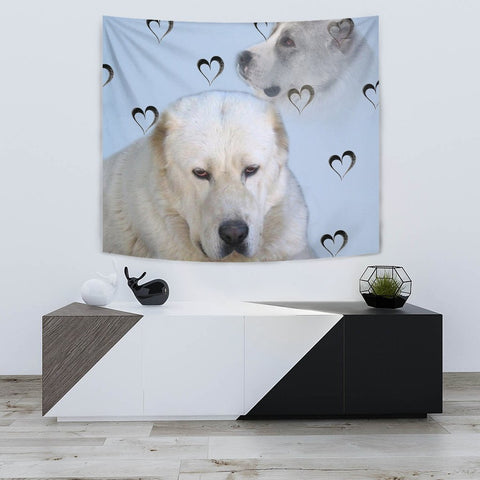 Central Asian Shepherd Dog Print Tapestry-Free Shipping