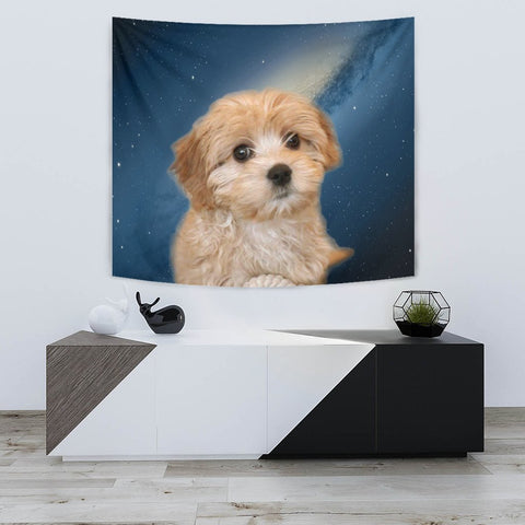 Lovely Cavapoo Print Tapestry-Free Shipping