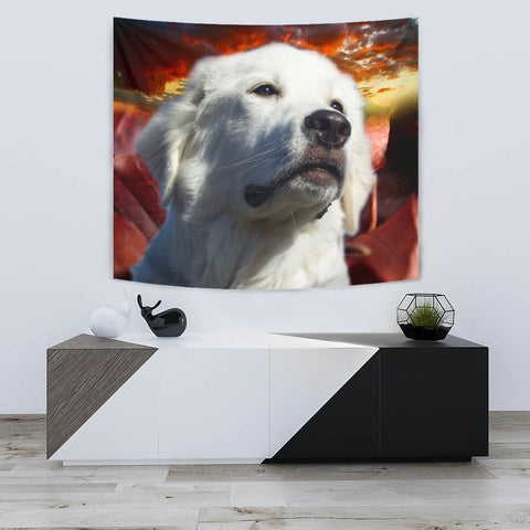 Great Pyrenees Dog Print Tapestry-Free Shipping