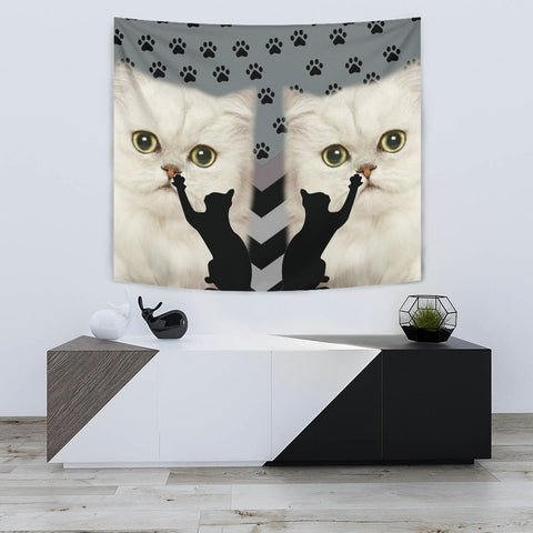 Persian cat Print Tapestry-Free Shipping
