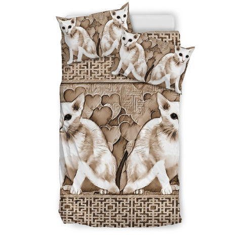 Oriental Shorthair Cat Print Bedding Set-Free Shipping