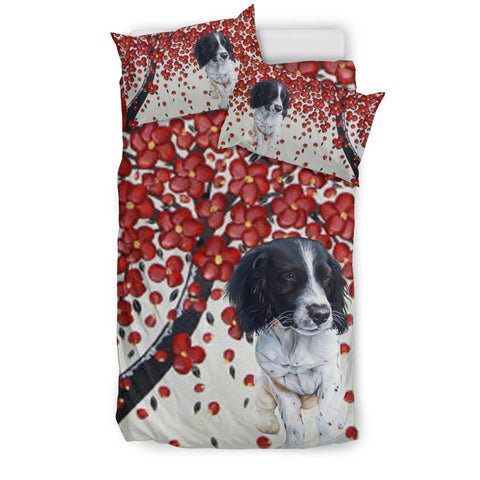 English Springer Spaniel Print Bedding Set-Free Shipping