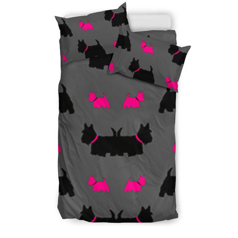Scottish Terrier Print Bedding Sets-Free Shipping