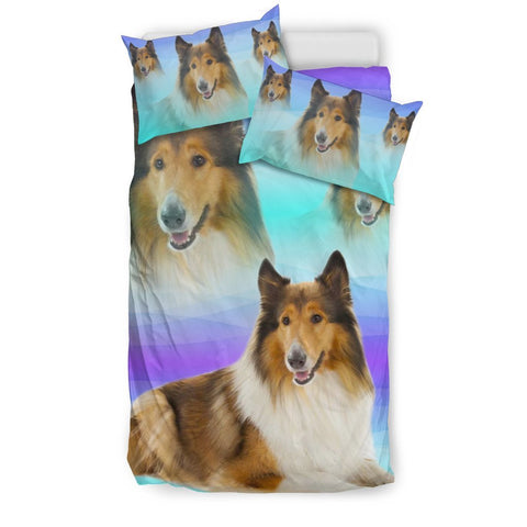 Amazing Collie Dog Print Bedding Sets-Free Shipping