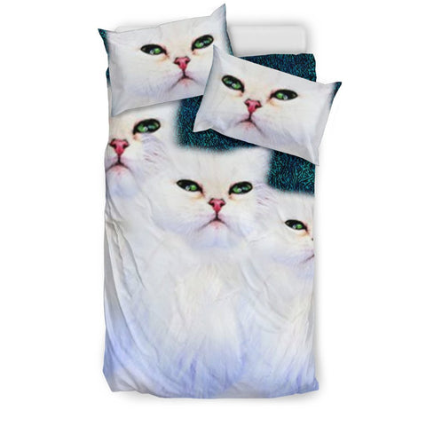 Lovely Persian Cat Print Bedding Set-Free Shipping