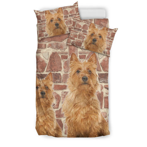 Australian Terrier Dog Print Bedding Set- Free Shipping