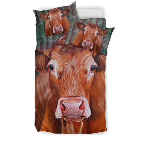 Limousin Cattle (Cow) Art Print Bedding Set-Free Shipping