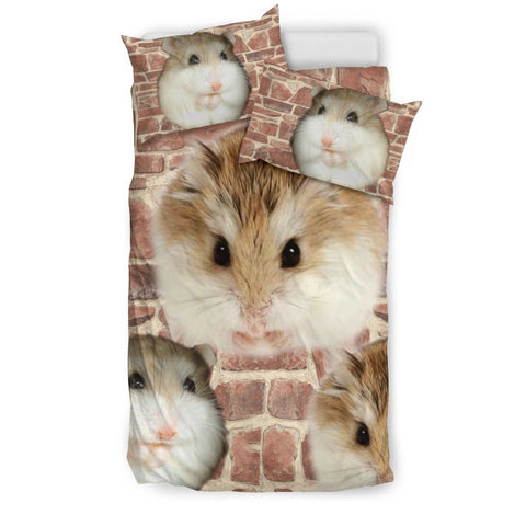 Cute Roborovski Hamster Print Bedding Sets- Free Shipping