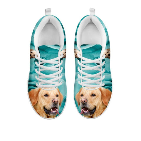 Cute Labrador Print Sneakers For Women- Free Shipping-For 24 Hours Only