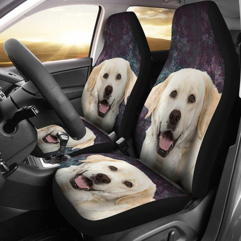 Labrador Retriever Print Car Seat Covers- Free Shipping
