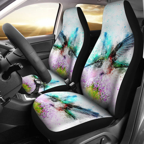Amazing Bird Color Art Car Seat Covers-Free Shipping