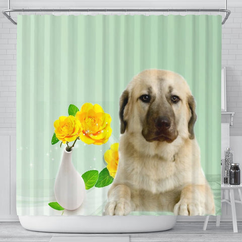 Anatolian Shepherd Dog Print Shower Curtain-Free Shipping