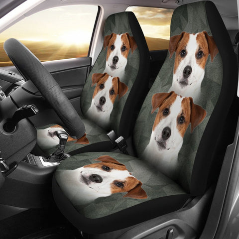 Cute Jack Russell Terrier Print Car Seat Covers-Free Shipping