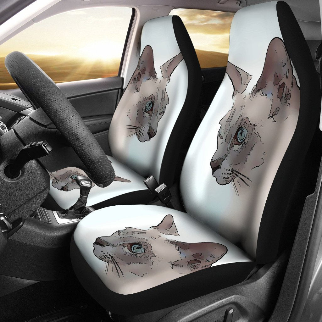 Tonkinese cat Print Car Seat Covers-Free Shipping