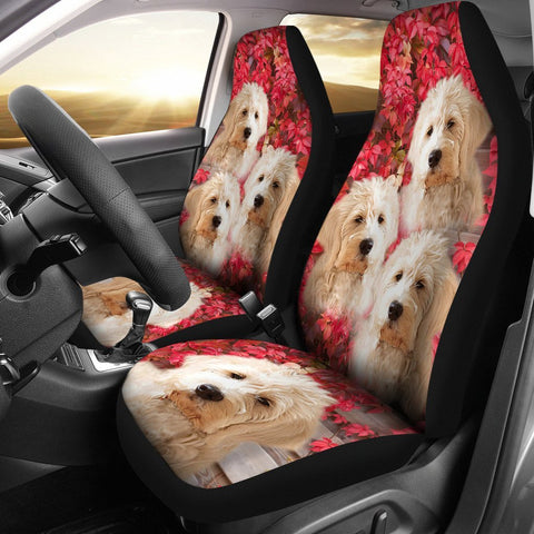 Amazing Goldendoodle Print Car Seat Covers-Free Shipping