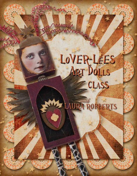 Lover Lees Art Dolls Bits - paperwhimsy