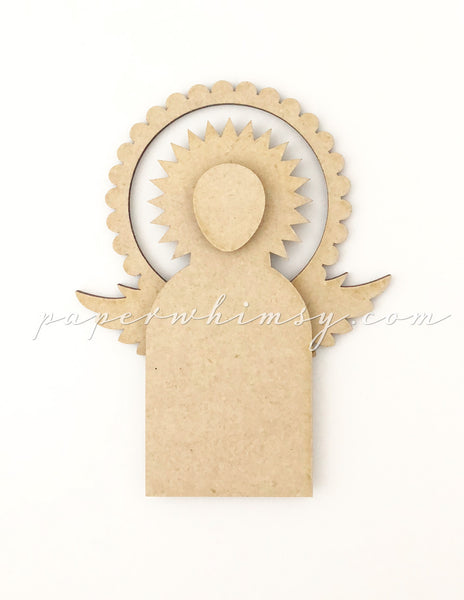 Floating Angel No.1 - paperwhimsy