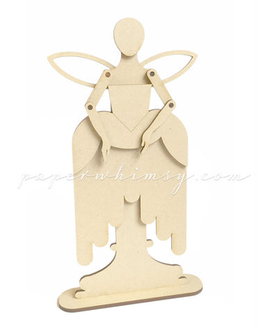 Curious Elizabethan Fairy - paperwhimsy