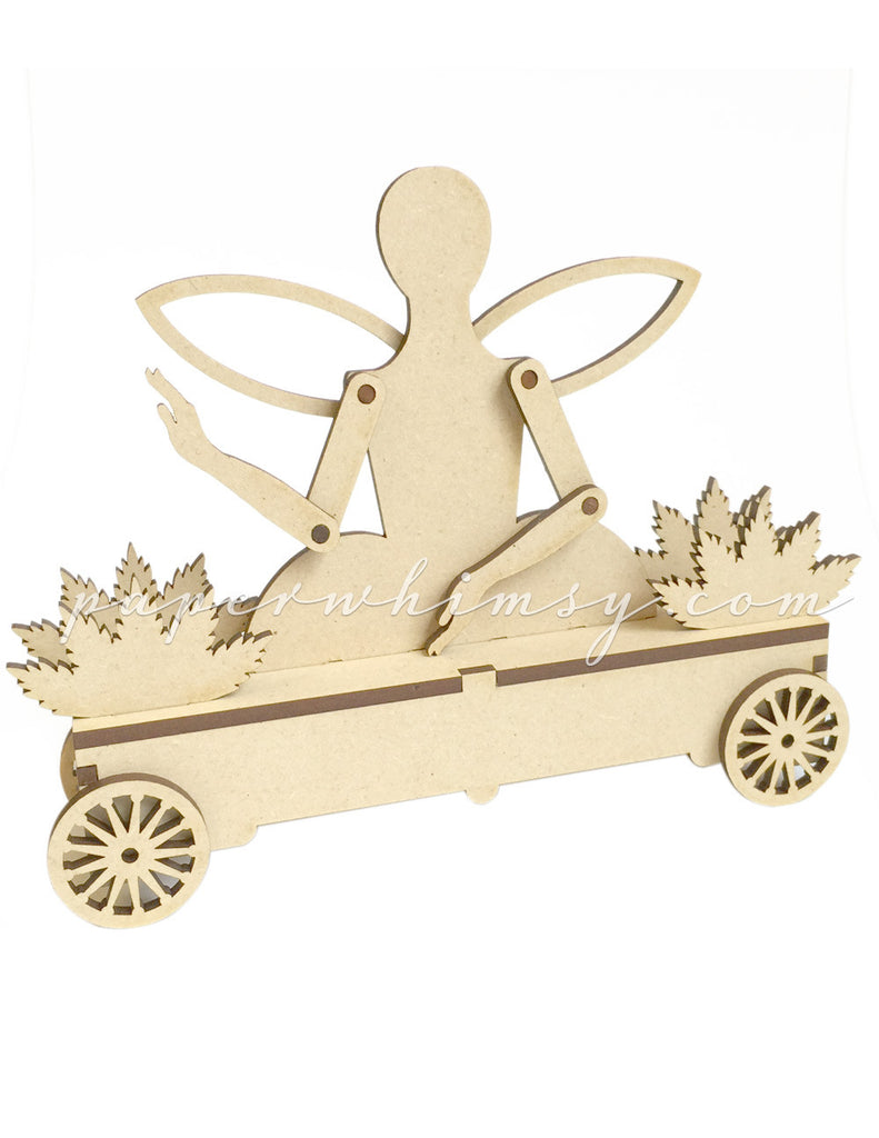 Fairy on Wheels - paperwhimsy