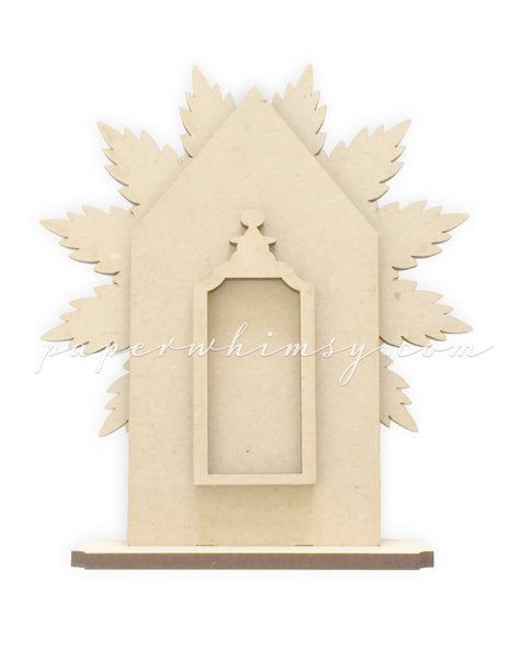Feathered Cottage - paperwhimsy