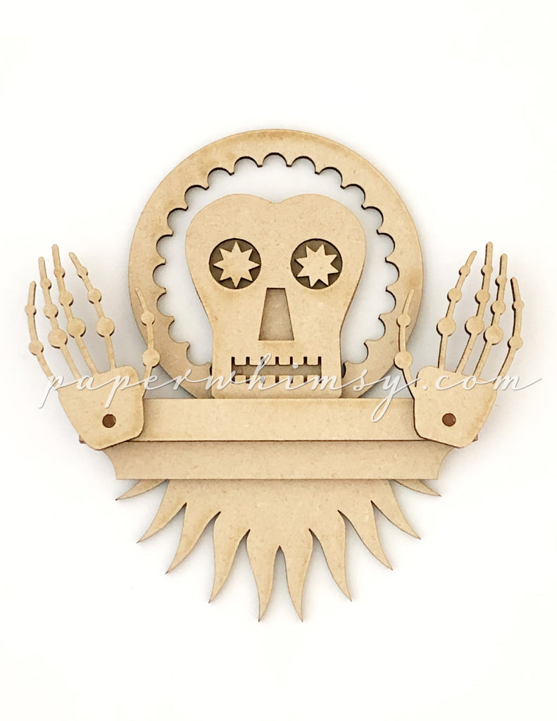 Splendid Skelly No.1 - paperwhimsy