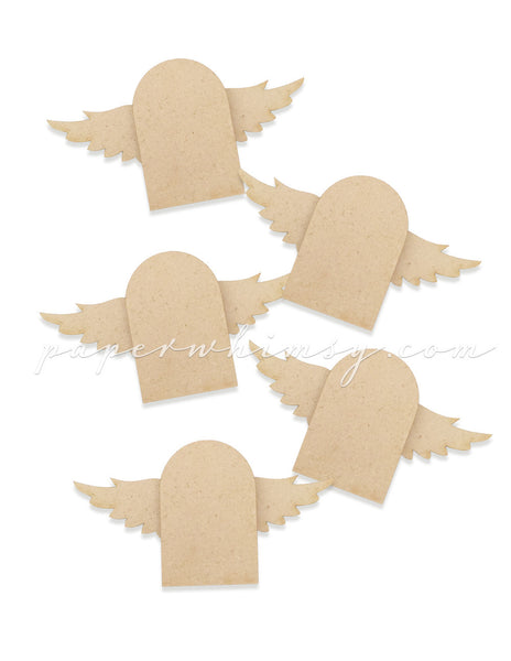 Mini Winged Arches - paperwhimsy
