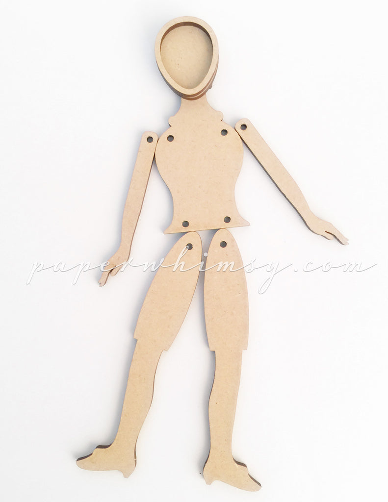 Curious Doll 01 - paperwhimsy