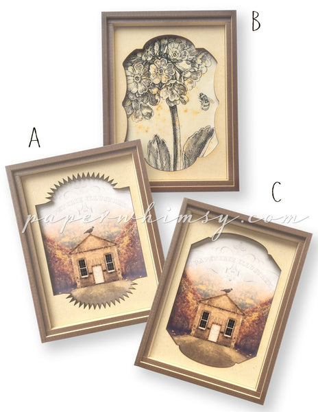 Faux Dag Frames - paperwhimsy