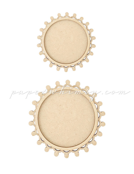 Frames Candlewick Round - paperwhimsy