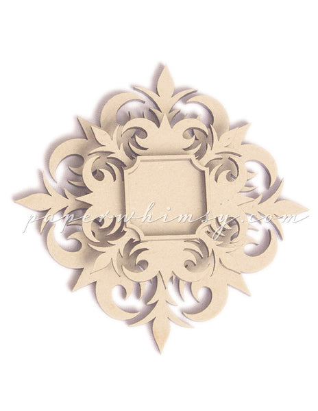 Rosette Layered Medallion No.1