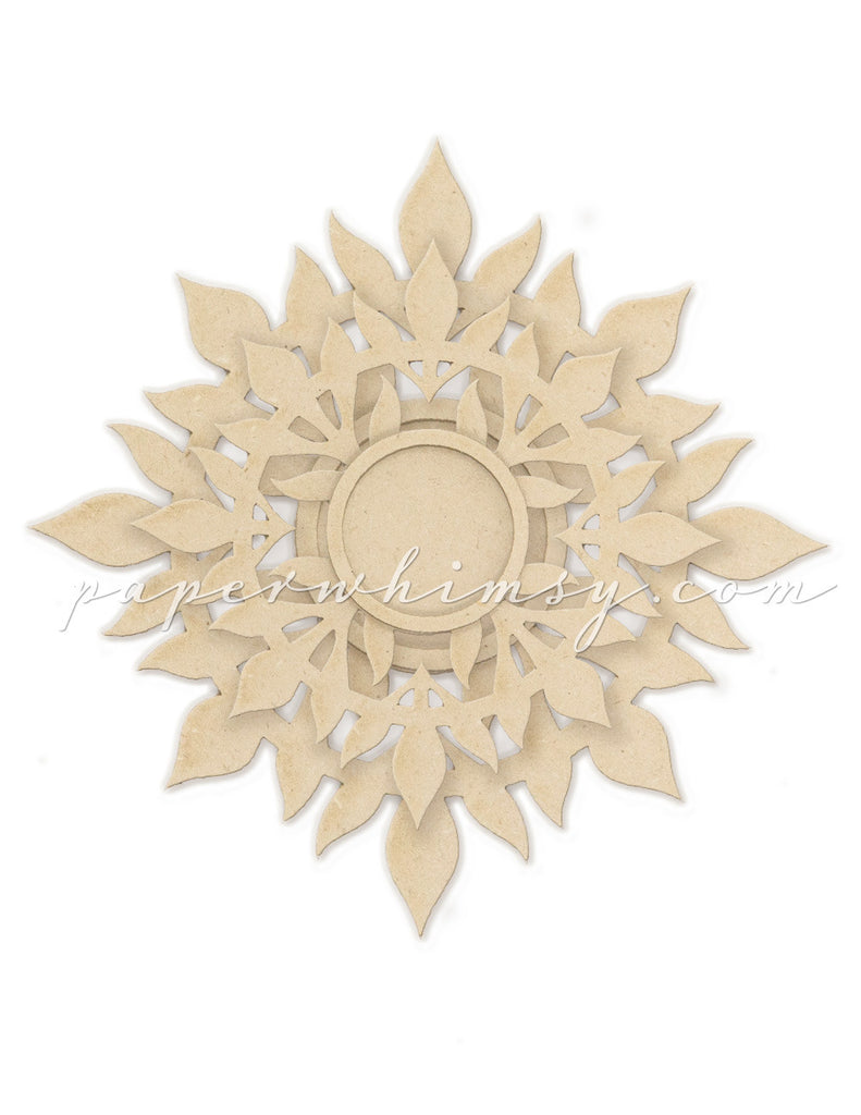 Rosette Layered Medallion No.3