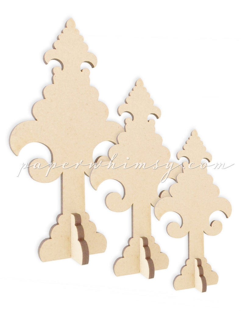 Ornate Trees - paperwhimsy