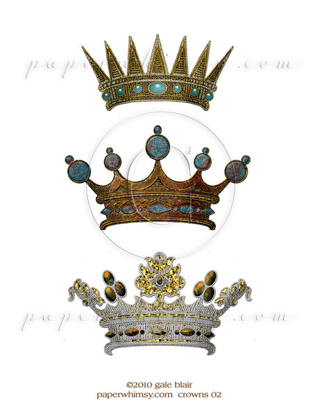Crowns 02 PNG