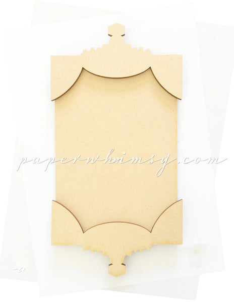 Quirky Topped Banner No2 - paperwhimsy