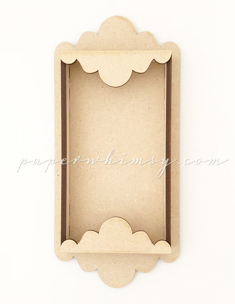 Scalloped Shadowbox