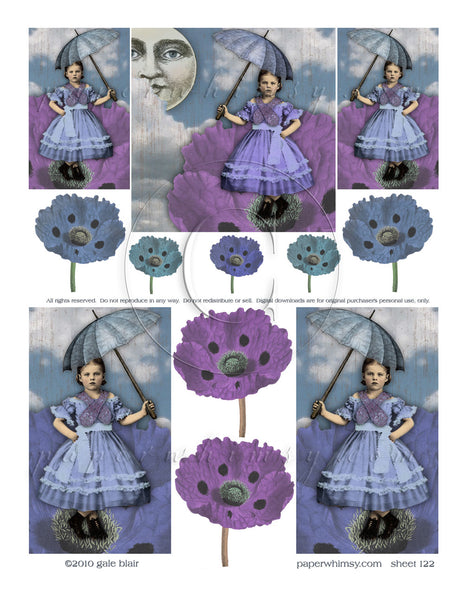 Sheet 122 PDF - paperwhimsy