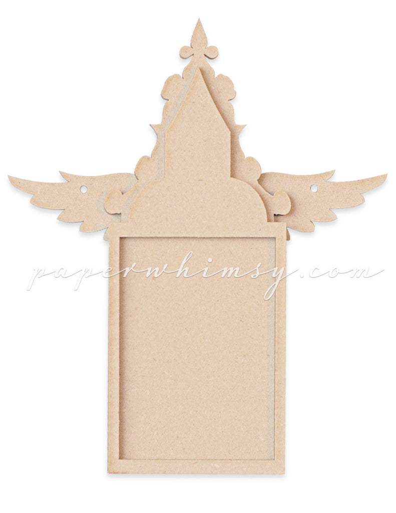 Winged Baroque Arch - paperwhimsy