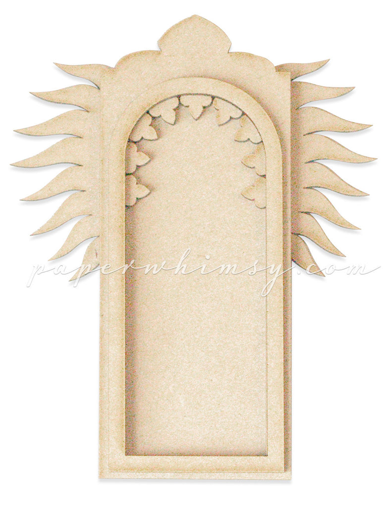 Gothic Arch Winged - paperwhimsy