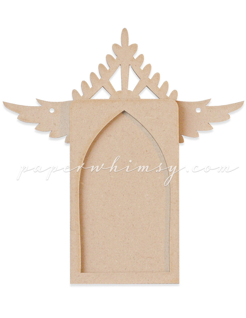 Lacy Arch Winged - paperwhimsy
