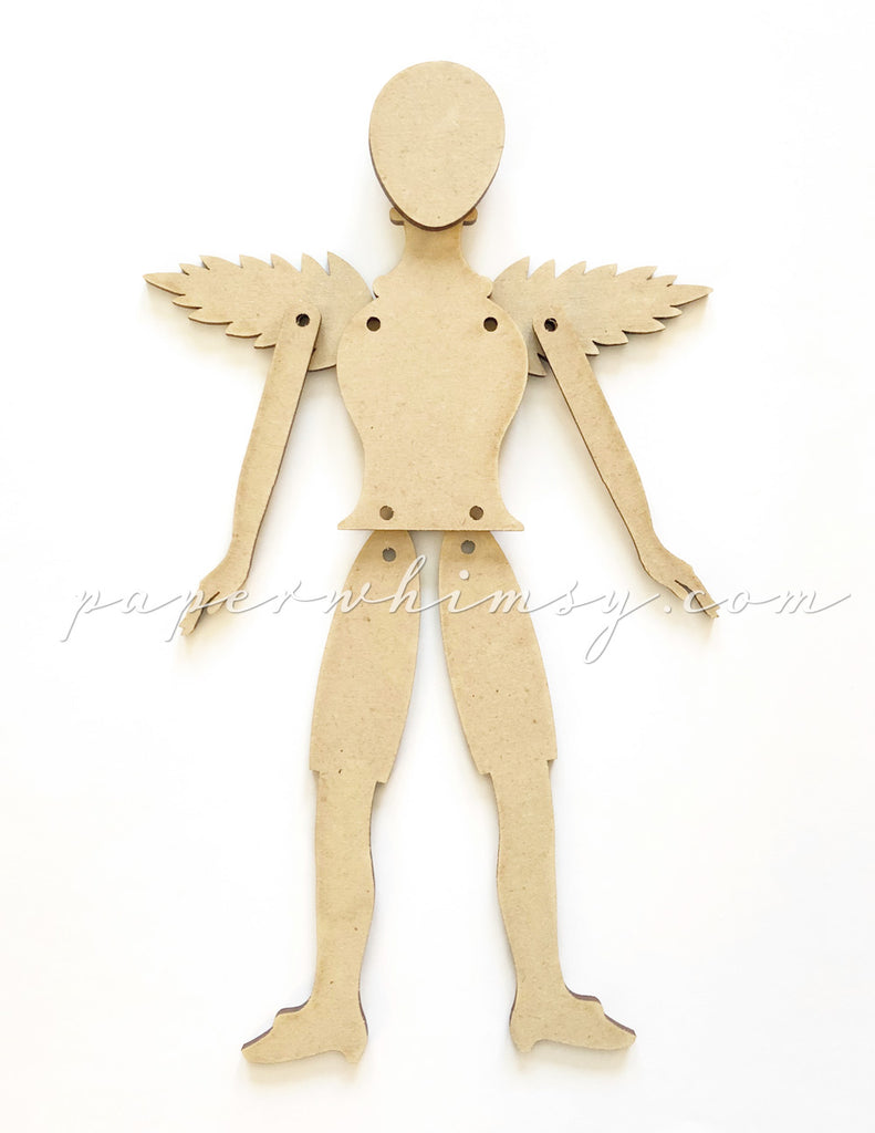 Curious Poupee Winged Doll Kit