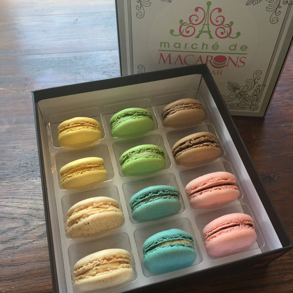 Dozen Box of Macarons