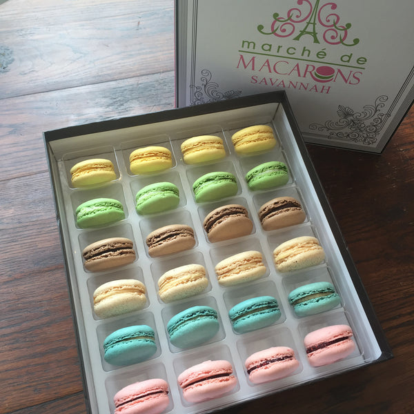 Two Dozen Box of Macarons