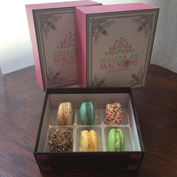 Six Box of Macarons (2 Boxes per Order)